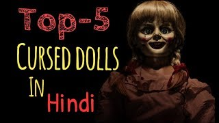 Top 5 Cursed Dolls In Hindi || Horror Video || Horryone ||