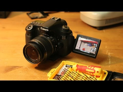 Repairing a Canon EOS 60D DSLR  with Faulty SD Card Slot + Updates