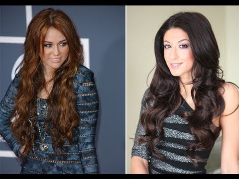 Miley Cyrus Inspired Loose Waves