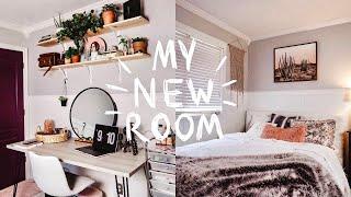 EXTREME BEDROOM MAKEOVER / TRANSFORMATION + ROOM TOUR 2019! (Aesthetic + vsco inspired room decor)