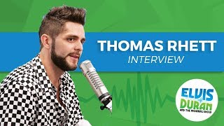 Thomas Rhett Chats Fatherhood, Winning a ACM and the Best Year Of His Life | Elvis Duran Show