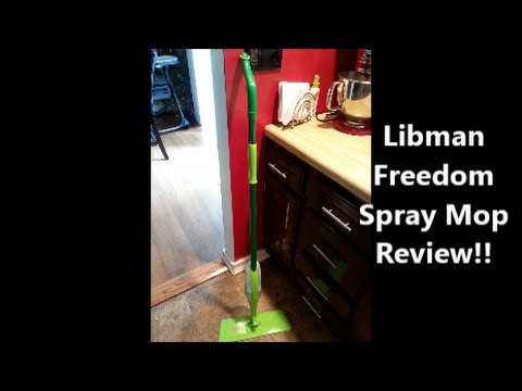 Libman Freedom Spray Mop Review