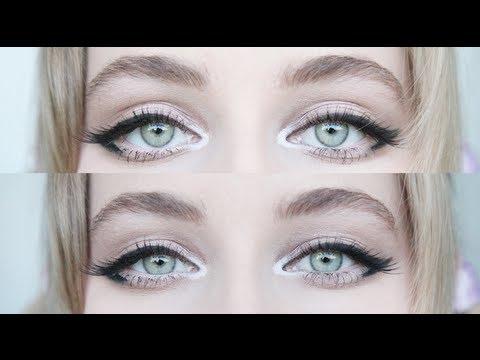 Enlarging Cat Eye Makeup for Big Eyes