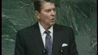 Download Reagan's ALIEN speech to UN Video