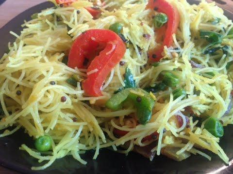 Spicy Rice Vermicelli Recipe ( Gluten free, vegan recipe)