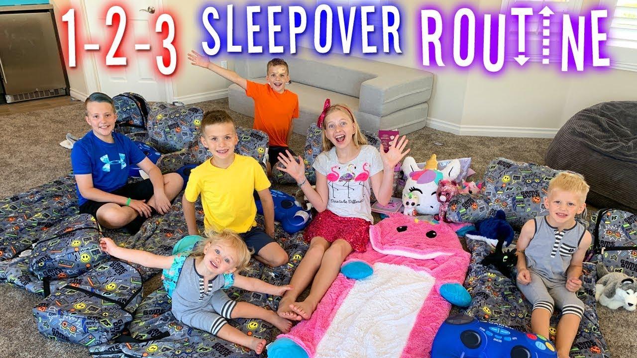 Best Ever Sleepover Routine!!