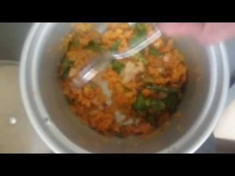 how to prepare CARROT RICE by using electric rice cooker, गाजर चावल