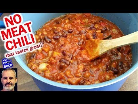Vegetarian Chili Recipe for Carnivores