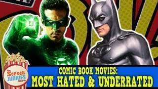 Download Comic Book Movies: Most Hated & Underrated Video