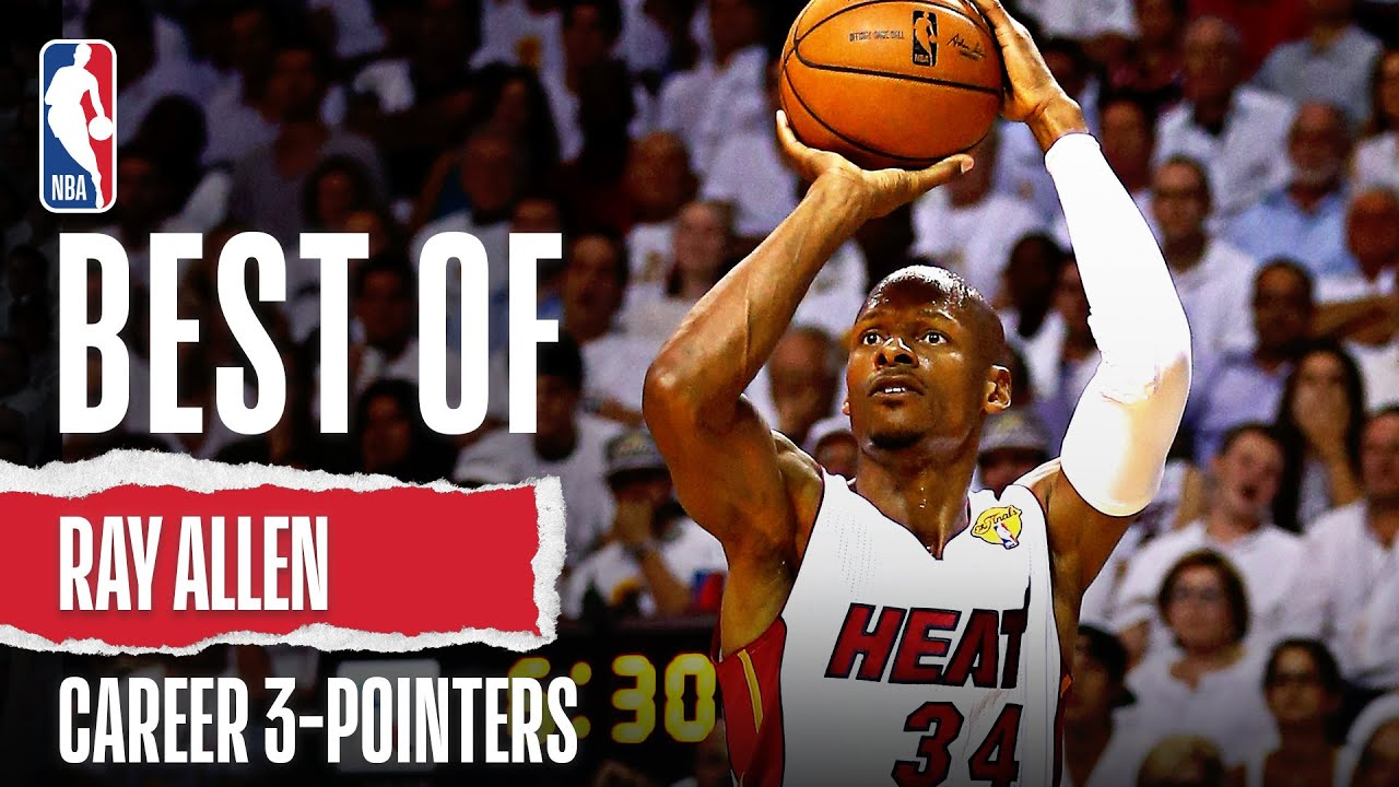 Best Of Ray Allen | Career 3-Pointers