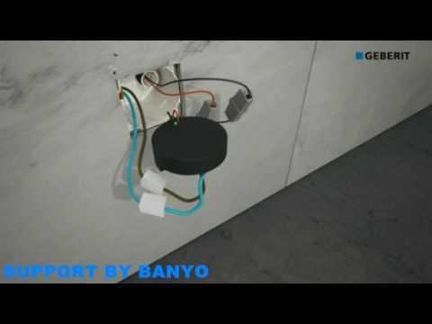 Geberit Duofresh Installation