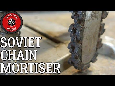 Soviet Chain Mortiser [Restoration] (Part 1 of 2)