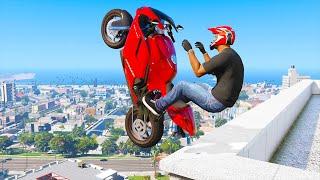 GTA 5 AMAZING Skills #4 (GTA 5 Epic, Stunts, Fails, Wins, Jumping, Thug life)