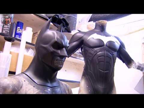 Creating Batsuit & Cape 'Batman: Begins' Featurette