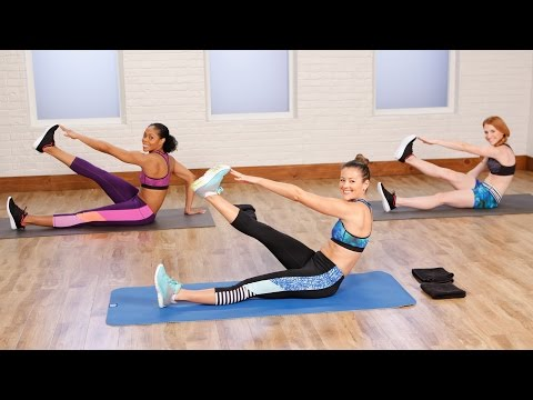 10-Minute Flat Belly Workout to Tighten and Tone | Class FitSugar