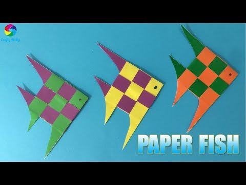 Paper Fish | How to Make a Cute Paper Fish Step by Step Tutorial
