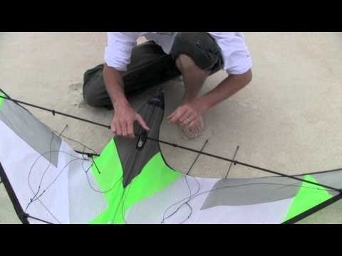 Dual Line Tutorial - Assembly and Disassembly (stunt kite)