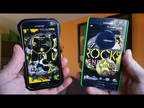 Video Calling & HD Voice - Note Edge & Galaxy S5