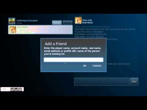 (Steam Tutorial)How to add friends