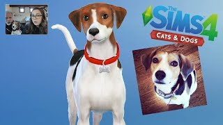 Making Polly (with My Dad) - The Sims Cats & Dogs (ep.2)