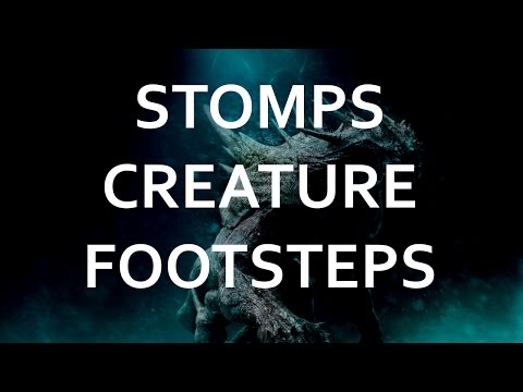 Impressive Creature Stomps and Monster Footsteps Sound Effects