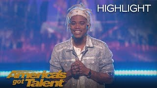 The Moment Brian King Joseph Received 3rd Place On AGT - America