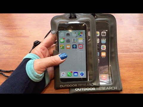 Outdoor Research Sensor Dry Pocket Waterproof Case for iphone 6 & iphone 6 Plus