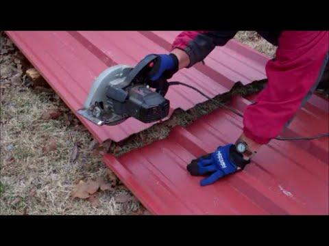 Cutting Sheet Metal~Irwin Tools Metal Cutting Circular Saw Blade Review