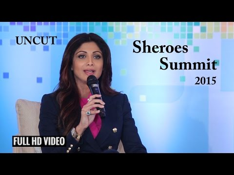 Shilpa Shetty At The Launch Of Sheroes Summit: Women Make Digital India
