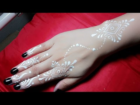 How to: White Henna Tattoo! Tutorial #1