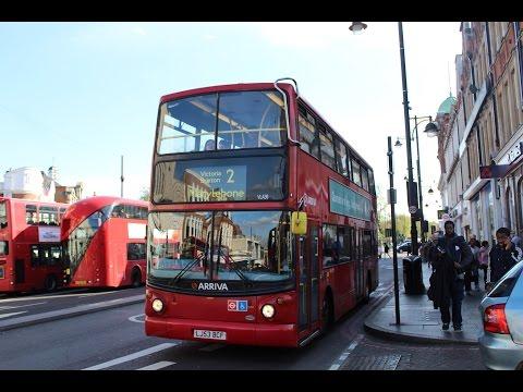 LOUD ENGINE!   Arriva London South   ALX400/Volvo B7TL   2 to Marylebone   LJ53BCF (VLA39)