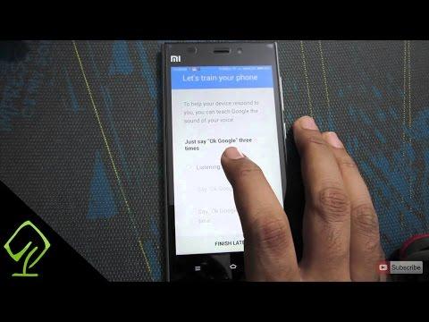 How to Enable Ok Google Detection Feature on Xiaomi Mi3