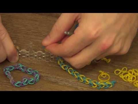 Easy Basic Loom Bracelet - Single Loop