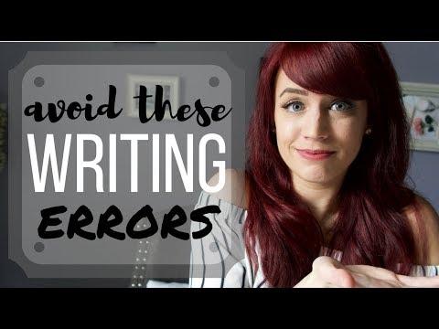 Avoid These 7 Common Writing Errors