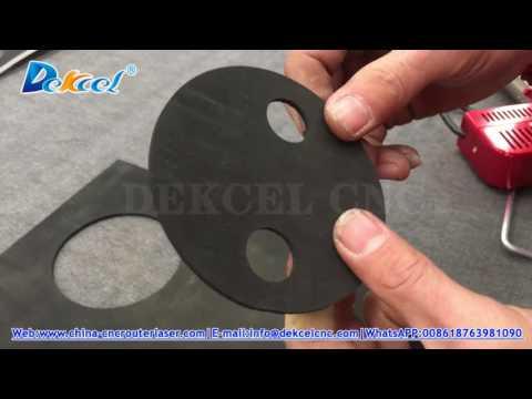rubber seal gasket oscillation knife cutting machine