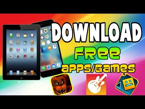 iOS Get PAID APPS/GAMES For Free Works On iPhone/iPad/iPod