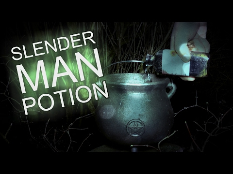 How To Summon Slender Man With A Potion