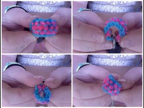 Rainbow Loom Double Capped Dragon Scale EASY Bracelet By Hannah Newton