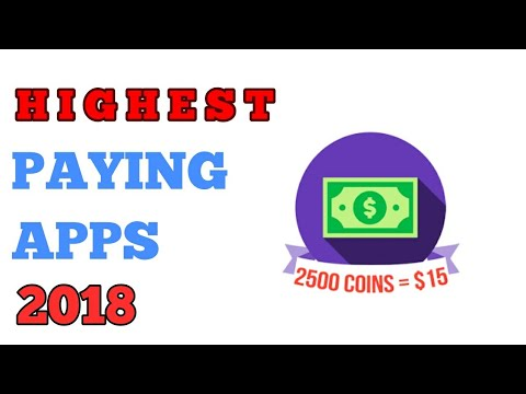 HIGHEST PAYING APPS 2018