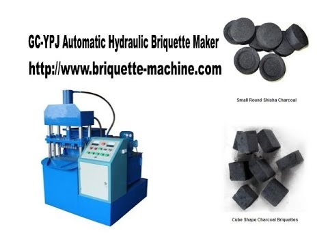 Shisha Charcoal Briquette Maker - GC YPJ Automatic Hydraulic Briquette Machine