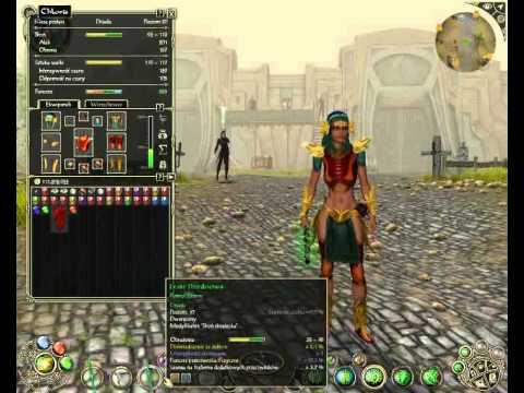 Sacred 2 Fallen Angel Dryad Full Special Armor Set Daerwain's Revenge
