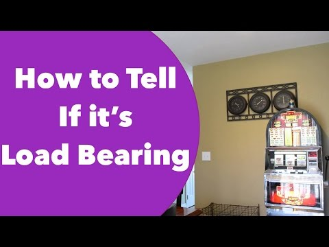 How to Determine if a Wall is Load Bearing or Not  (Viewer Requested)