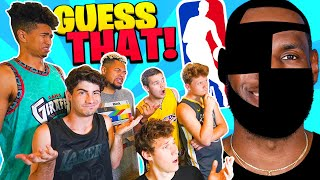 Guess That NBA PLAYER! (ALL-STAR Edition)
