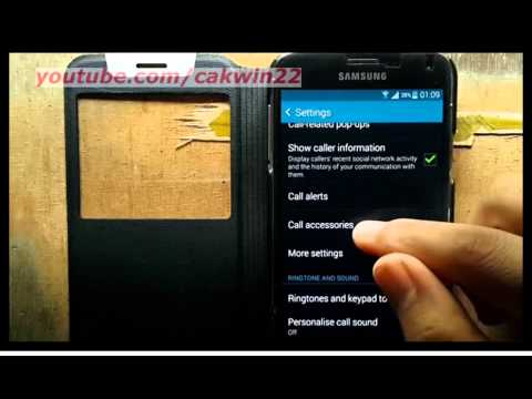 Samsung Galaxy S5 : How to Set Automatic Answering Timer (Android Phone)