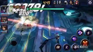 Marvel Future fight - proxima midnight ( WW and Daisy)  V.S Supergiant