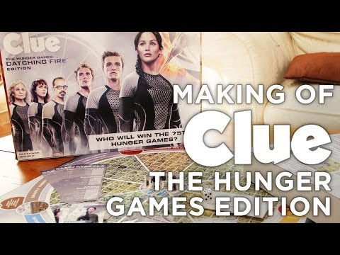 Making of the Clue: Hunger Games Edition Board Game