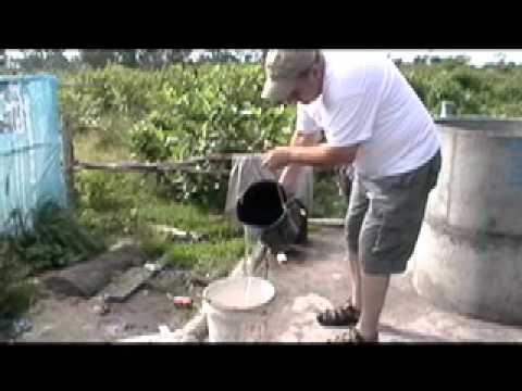 Water wells project in Cambodia 20100.mov
