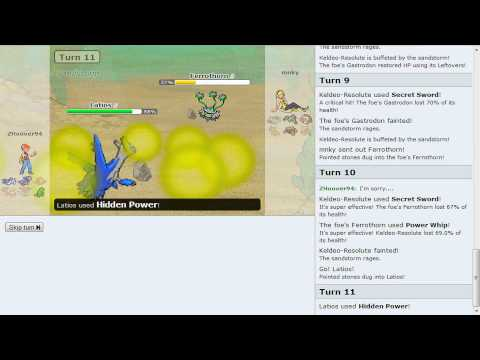 Pokemon Showdown Battle Series [OU] - Battle #13