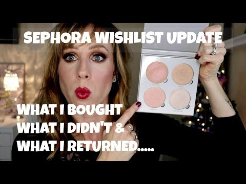 Sephora Wishlist Update | What I Bought, What I Didn't and What I Returned...April 2016