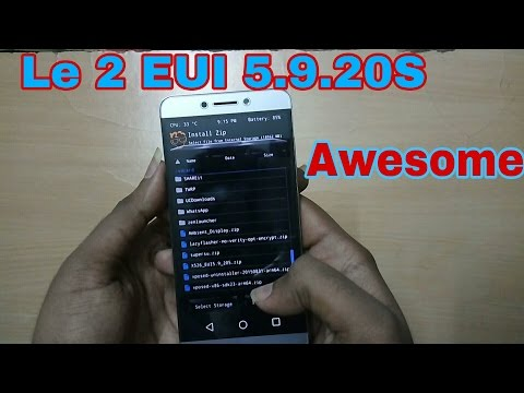 LeTV Le 1s Letv 2S Hard Reset And Remove Pattern Reset key Letv 1S